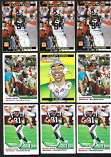 Collection/Lot(9) SI for Kids-RANDY MOSS Cards,Rookie- Vikings/Patriots/Raiders