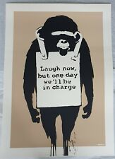 WCP Laugh Now Banksy Copy West Country Prince