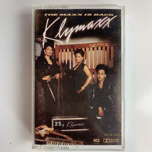 Klymaxx The Maxx is Back (Cassette)