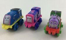 "Mini Thomas and Friends Ocean Creatures Train Toys 3pc Lot 2"" Miniature Mattel B"