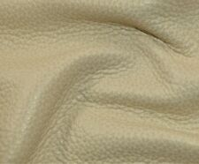 "363 sf4 oz. Beige ""Holly Hunt "" Upholstery Cow Hide Furniture Leather Skin e3hjp"