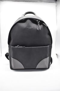 Ted Baker Backpack Bag Faux Leather Rucksack Retro City Travel H 44cm RRP £159