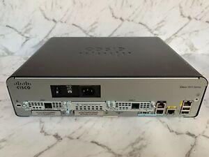 Cisco CISCO1941W-N/K9 POE PSU w 2 x Cisco EHWIC-VA-DSL-A WAN Card