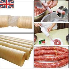 26mm * 14mm Natural Sausage Skin Collagen Casing Smoked Fresh Roast