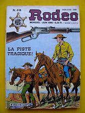 Rodeo 418 Tex Willer Editions Lug 1986 Très bon état