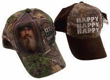 Realtree Duck Dynasty Camo Outdoor Baseball Cap Hat Lot 2 Happy Hey Homie  A E 881767aca10d
