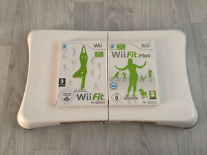 Official White Nintendo  2x Wii Fit Plus Games Balance Board, Fully Tested