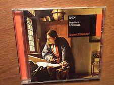 Bach - Inventions & Sinfonias [CD Album] Gustav Leonhardt SONY Clavecin