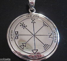 First PENTACLE of JUPITER Sterling silver pendant by Peter Stone. Solomons Seals