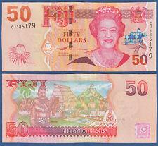Fiji 50 dollars (2007) p.113 UNC