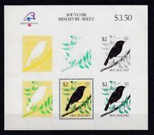 D. Bird New Zeland Block 18 (MNH)