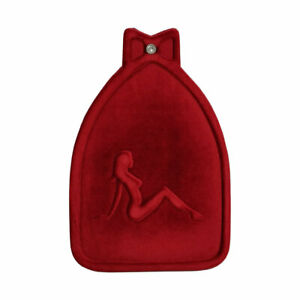 NEW! Pretty Lady Velvet Fender Mudflap RED Lowrider Bicycles Cruiser Bicycle