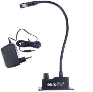 5 Watt Leselampe mit Trafo & Sockel zum anschrauben Schwanenhalslampe Möbellampe