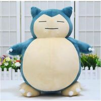 Jumbo SNORLAX Pokemon Center Kabigon Plush Toy Soft Doll 30cm Figure Gift