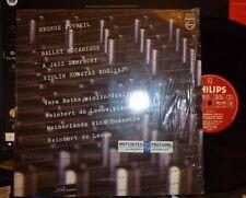 GEORGE ANTHEIL Ballet Mécanique, Jazz Symphony, Violin Sonatas  LP Shrink NM/EX