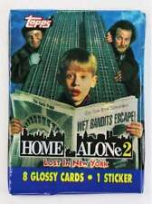 Vintage 1992 Topps Home Alone 2 Trading Cards NYC Classic Movies Christmas Stock