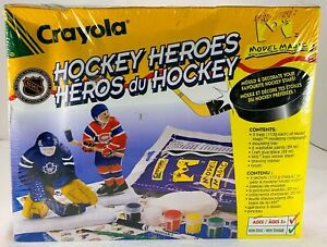 Crayola Hockey Heroes from the 90's Brand NEW FREE SHIPPING