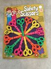 Vintage Woolbro Toy Safety Scissors Hong Kong ~ New Ex Shop Stock Display 70s