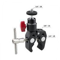 """CAMVATE Super Clamp Mount Mini Ball Head 1/4""""-20 for DSLR Camera Tripod Monitor"""