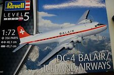 Revell  DC4 Balair/Iceland Airways 04947 1/72