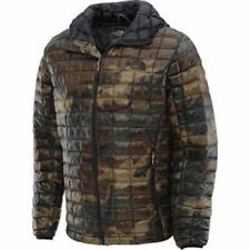 The North Face Men  Down Thermoball Coat Jacket  XXL 2XL Green Camo ski New