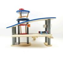 Plan Toys City Series Wooden Airport Wooden Play Set – Airport Only