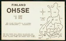Mayfairstamps Finland Oh5Se Call Area Map Card wwk_49485