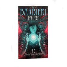 Barbieri Tarot 78 cartas de cubierta con instrucciones multilingüe por Paolo Barbieri