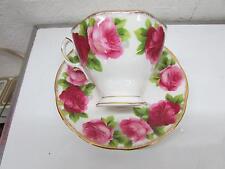 Royal Albert Fine Bone China Tea Cup & Saucer Old English Rose
