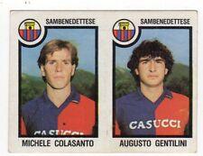 figurina CALCIATORI PANINI 1982/83 NEW numero 549 SAMBENEDETTESE COLASANTO GENTI