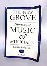 The New Grove Dictionary of Music and Musicians - Volume One - A to Bacilly