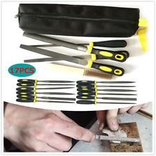 File Tools Metal Steel Half Round Flat Triangle Round Mill File Tool Set Of 17