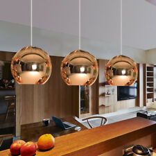 Bronze Glass Pendant Light Bar Lamp Kitchen Pendant Lighting Room Ceiling Lights