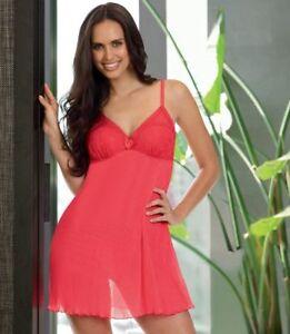Ladies INTIMO Passion Pink Sophia Slip Size 12 - LIKE NEW