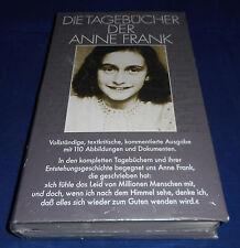 Die Tagebücher der Anne Frank vollständige, textkritische, kommentierte Ausgabe