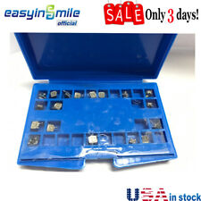 Dental Orthodontic Active Self Ligating Brackets Mini Roth 022 Hooks 3 4 5 1pack