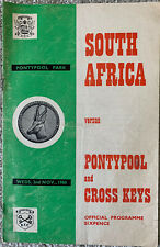 More details for south africa v pontypool & cross keys 1960 rugby union