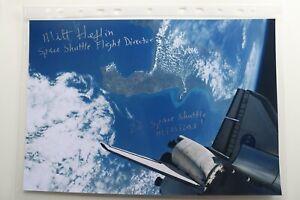 Autogramm Milt Heflin Space Shuttle Nasa 8x10 20x30 original autograph signed