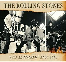 THE ROLLING STONES 'LIVE IN CONCERT 1965-1967' 2 CD Set (31st July 2020)