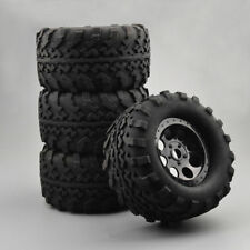 4x Bigfoot Tire&Wheel Rim Rubber Tires F 1:8 Rc Monster Truck Tm E5 E63 Tra