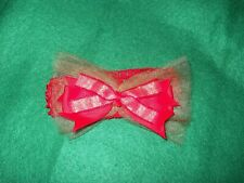 New ~ Holiday Headband ~ Baby / Girls Soft Stretch ~ Red