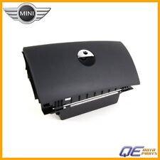 Mini Cooper Genuine Glove Box - Lockable without Lock Cylinder (Panther Black)