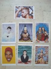 7 PIERRE et GILLES  postcards photo art gay kitsch NINA HAGEN Paloma Picasso