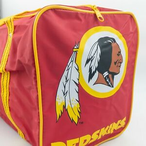 Vintage Washington Redskins Sports Duffle Bag Fan Giveaway Promo Mobil 80s 90s
