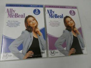Ally McBeal : Season 1 : Part 1 & 2 (DVD, Region 4) MB11