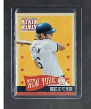2013 panini Hometown Heroes DAVE KINGMAN #288 METS  Shortprint SP Rare