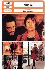 ANNA OZ - Gainsbourg,Lanvin,Devos,Rochant (Fiche Cinéma) 1996