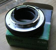 Vivitar TX  Konica AR adapter mount