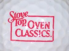 (1) STOVE TOP OVEN CLASSICS STUFFING LOGO GOLF BALL