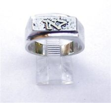 Silver & Gold Kabbalah Positivity Ring for Men & Women